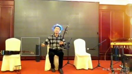 在朋友父亲90岁生日宴上,广元几个玩音乐的在台