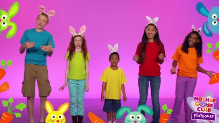 The Finger Family - The Rabbit Family - Mother Goose Club Playhouse Kids Video