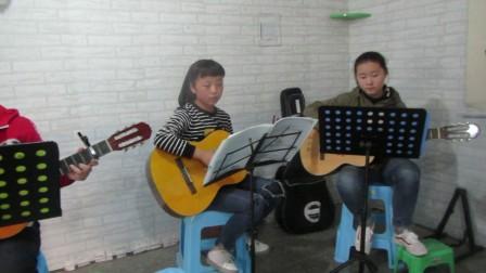 韩红版《家乡》 吉他合奏练习