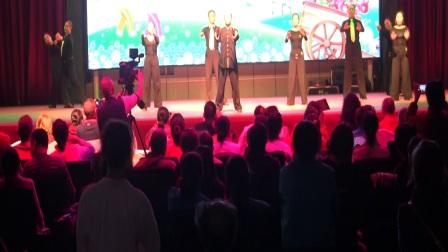 爱舞天地团队 绵阳市老年健身体育节表演:摩登