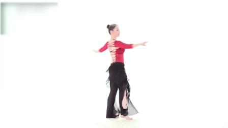 钢管舞肚皮舞旋转、跳跃及重心的稳定性训练2肚