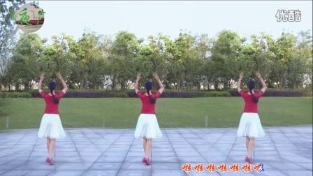 雨夜广场舞 爱河 中三 单人跳法 原创附分解