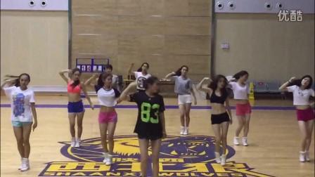 陕西信达啦啦队2015赛季 新征程新舞蹈