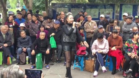 20171112,中山公园(越剧红楼梦)想当初妹妹从江南初耒到,毕丽演唱,甬闻录制《原创,如有雷同均为盗版必究》。