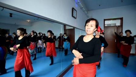 老年大学舞蹈班  傣族舞 金风吹来的时候