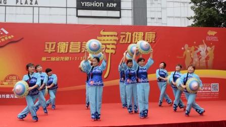 舞动时代舞蹈队   时代玫瑰园(十送红军)转换
