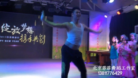 全国肚皮舞冠军导师 董盾 受菲菲舞蹈工作室邀请