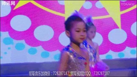 师讯网-幼儿园精品大班元旦汇演舞蹈《嘚啵嘚啵