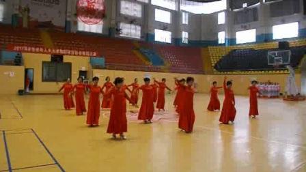 携手开心健身队参加木兰拳舞蹈体育协会舞蹈大