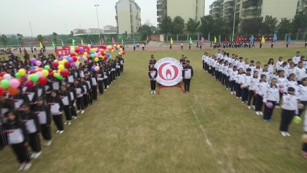 湖南岳阳市五中第16届田径运动会花絮