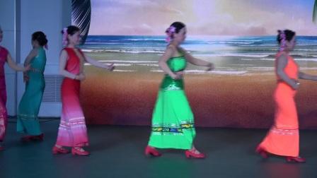 舞蹈 傣族姑娘在水边 2017.11.15日 采油