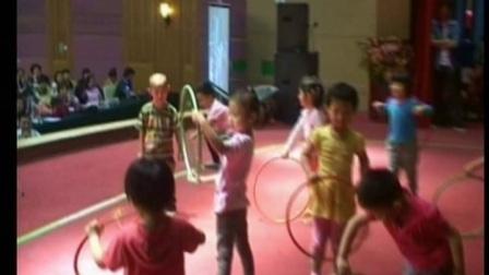 幼兒小班體育《圈圈樂》教學視頻2