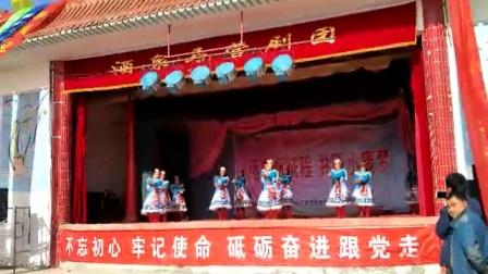 下河清镇第七届农民文化艺术节五坝村舞蹈  最美