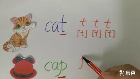 小学_英语_外研版小学英语三年级上册易混淆点-cat与cap的区分微课
