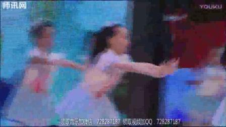 师讯网推荐幼儿园大班男孩舞蹈(元旦)-伞下的