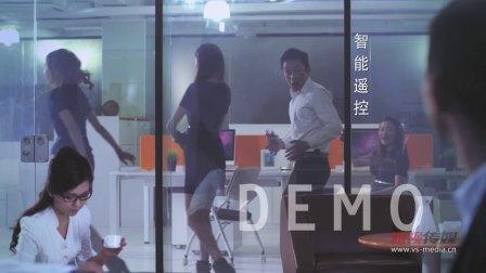 创意广告-智能玻璃