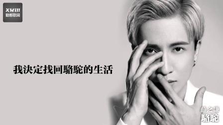 薛之谦 - 骆驼「XWill动态歌词MV」