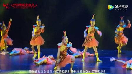 幼儿园儿童舞蹈《赛龙舟》 第九届小荷风采