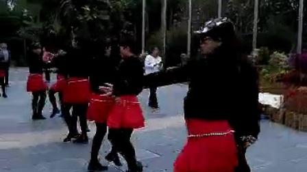 深圳骄姿魂舞蹈队水兵舞--学员实习中