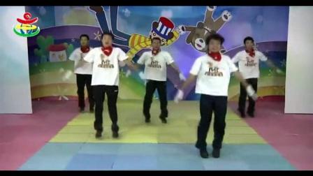 幼儿园小班儿童舞蹈《跑跑转体操》