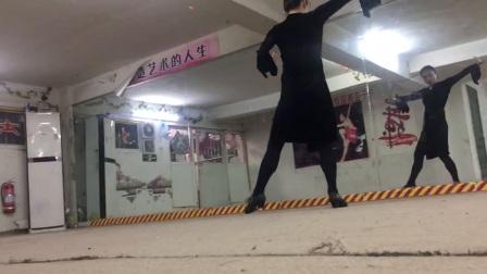 【金星二级斗牛女步】千姿艺术学校