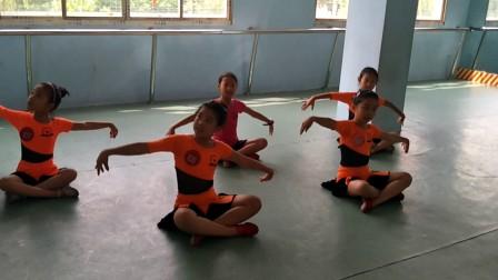 【固始千姿艺术学校2017年中国舞考级】