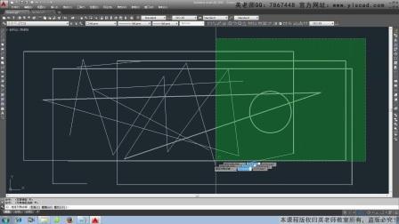 cad视频画四条线,CAD2014教程果冻多线工厂cad设计图图片