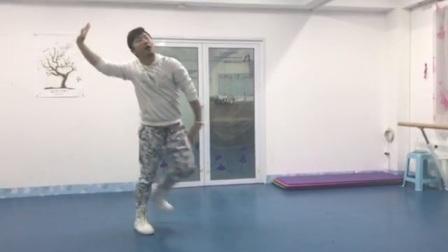 艺海峰老师讲解舞蹈《我与自己唱相守》前八个