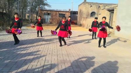 武邑县何村舞蹈队,大中国…串烧。