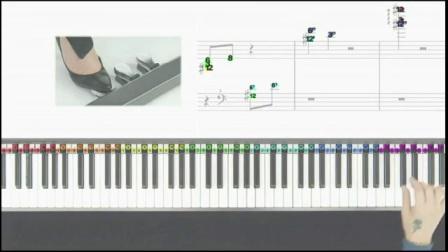 教程病理钢琴1嘎达梅林入门钢琴步骤第一课基础v教程切片具体钢琴图片