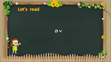 """小学_英语_字母组合""""ay""""的发音微课"""