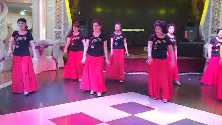《健康快乐》团队2周年庆典联谊会表演的藏族舞