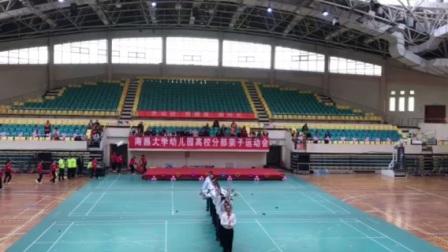 2017南昌大学幼儿园高校分部亲子运动会男家长舞