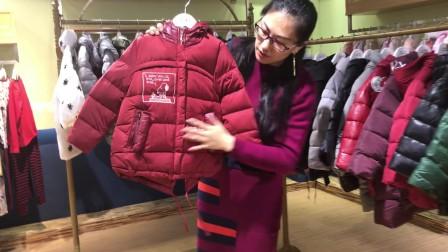 布布恰恰第二波毛领加绒加厚全冬羽绒童装折扣