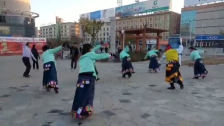 藏族舞蹈《毛主席的光辉》格桑花K4098763