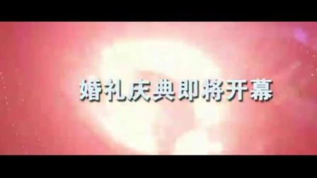 金云汪晓婚礼MV播放