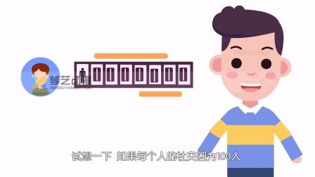 推来推去宣传动画 飞碟说动画 扁平动画 MG动画