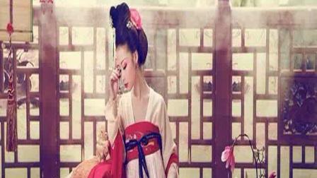 美女古装中国风写真集偏冷色调,穿着古人可没