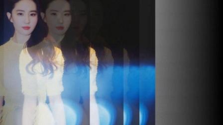 刘亦菲一席黄色连衣裙优雅成公主,自拍照成最