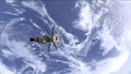 探索未来科技火箭发射太空分体卫星探测宇宙地
