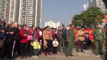 广西退役部分老兵和南宁市民隆重纪念毛泽东主席诞辰124周年