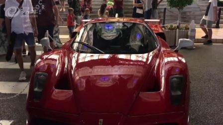 帅到窒息 摩纳哥2017顶级超级跑车街拍集锦