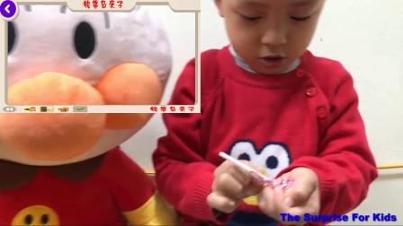 铅笔岛亲子 Anpanman 玩具动画-棒糖 Anpanman 玩具孩