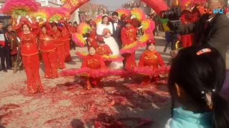 烟台福山区回里张格堡威风鼓队《人和大酒店》结婚了