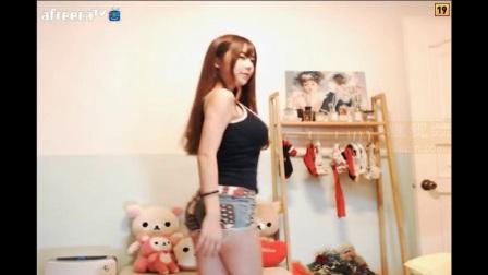 韩国女主播李秀彬热舞