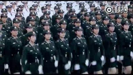 【赞[赞][赞]阅兵时的女兵方阵,真帅!...-来自央