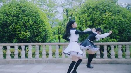 【美女热舞】超级漂亮的双胞胎妹子迷你短裙热