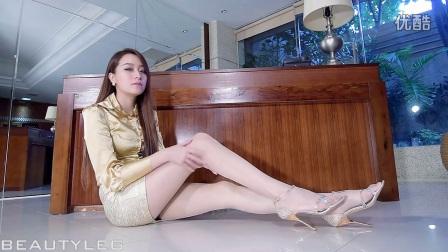丁字裤美女模特性感诱惑丝袜美腿写真 Beautyleg