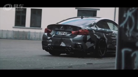 BMW M4街拍帅到没朋友!