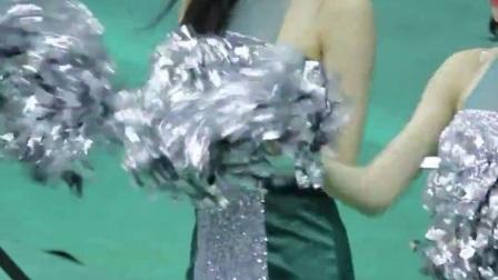 180106 韩国职业篮球联赛 啦啦队美女 김한나 加油